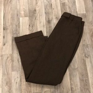 Ann Taylor LOFT Brown Dress Pants Size 6 Laura